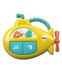 Fisher Price Musical Submarine With Flash Lights - Yellow