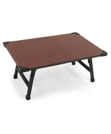 Awals Multi-function Foldable Bed Table - Brown