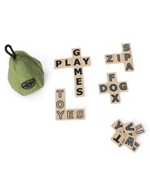 Imagician Playthings Pairs In Pears Bananagrams - Green