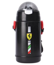 Ferrari Pearl Double Wall Water Bottle Black - 400 ml