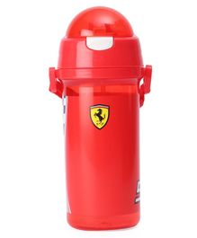 Ferrari Race Flag Double Wall Water Bottle Red - 400 ml