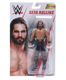 WWE Seth Rollins Articulated Figure Multicolour - Height 17 cm