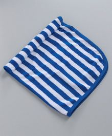 Simply Striped Hand & Face Towels - Blue