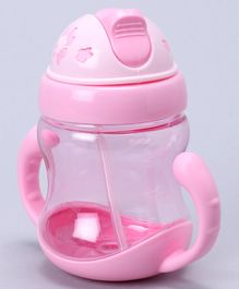 Sipper Bottle With Handles Light Pink - 320 ml