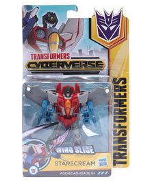 Transformers Cyberverse Warrior Starscream - Blue Red