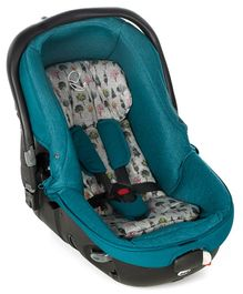 Jane Matrix Light 2 Car Seat Cum Carrycot With Canopy - Blue