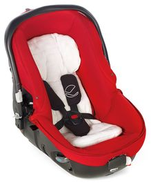 Jane Matrix Light 2 Car Seat Cum Carrycot With Canopy - Red