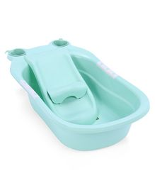 Baby Bath Tub With Detachable Bather - Sea Green