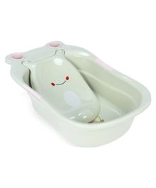Baby Bath Tub With Tray - Green