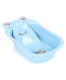 Baby Bath Tub With Tray - Blue