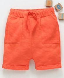 LC Waikiki Solid Shorts - Orange