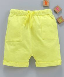 LC Waikiki Solid Shorts - Yellow