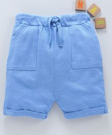 LC Waikiki Solid Shorts - Blue