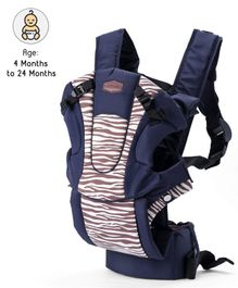 3 in 1 Baby Carrier - Navy Blue Brown