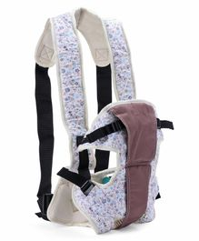 3 in 1 Baby Carrier - Brown Blue