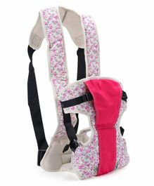 3 in 1 Baby Carrier - White Pink