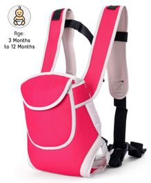 Baby Carrier With Adjustable Head Support - Pink