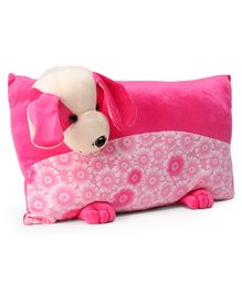 Funzoo Puppy Soft Toy Pillow - Pink