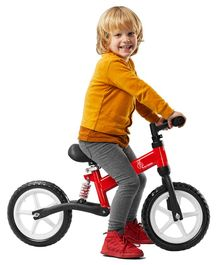 R for Rabbit Tiny Toes Trainer Balance Bike - Red