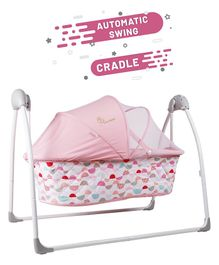 R for Rabbit Lullabies The Automatic Swing Cradle - Pink