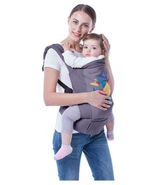R for Rabbit Hug Me Elite Baby Carrier - Dark Grey