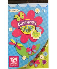 Scoobies Butterfly Sticker Book Multicolor - 194 Stickers