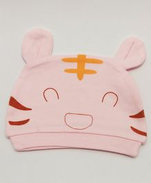 Kid-O-World Kitten Design Cap - Pink