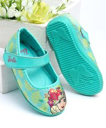 Barbie Bellies Leaves Print - Sea Green