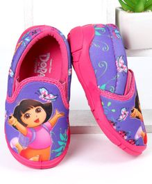 Dora Casual Shoes Character Print - Purple