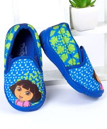 Dora Casual Shoes Character Print - Blue