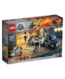 LEGO Jurassic World T rex Transport - 609 Pieces