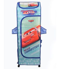 Kudos Disney Pixar Car Print 5 Shelved Almirah - Blue