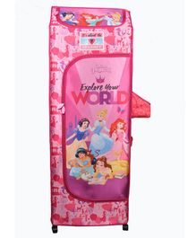 Kudos Disney Princess Print 5 Shelved Almirah - Pink