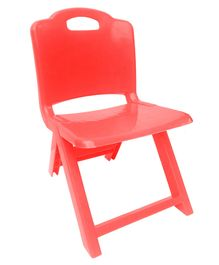 Sunbaby Foldable Chair - Red