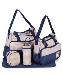 5 Piece Baby Diaper Bag Set - Blue