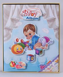 Baby Photo Album - Blue