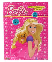 Barbie Colouring Book - English