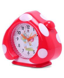 Home Shaped Alarm Clock - Red
