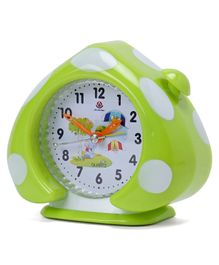 Home Shaped Alarm Clock - Green