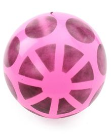 Printed PVC Soft Ball - Purple (Print May Vary)