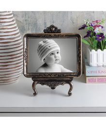 Quirkt Monkey Vintage Tabletop Photo Frame - Copper