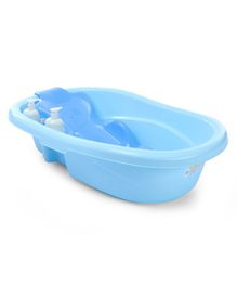 Large Baby Bath Tub With Bather - Blue