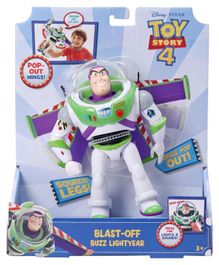 Toy Story 4 Blast Off Buzz Lighty White - 16.5 cm