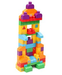 Fisher Price Mega Bloks Let's Get Learning Building Blocks Set  Multicolour- 150 Pieces