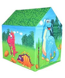 Yamama Dino Hunter Jungle Theme Indoor Outdoor Pop-up Play Tent - Multicolor