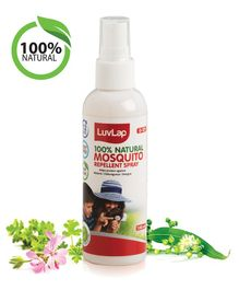 LuvLap Natural Mosquito Repellent Spray - 100 ml