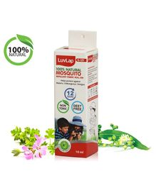 LuvLap Natural Mosquito Repellent Fabric Roll On - 10 ml