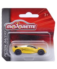 Majorette Friction Razers Cars - Yellow & Grey