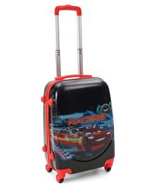 Disney Pixar Cars Luggage Trolley Bag Red Blue - 20 Inches