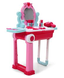 Dr. Toy Little Beauty Play Set In Suitcase - Pink